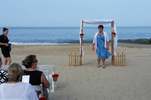 Preparing for a Beach Wedding