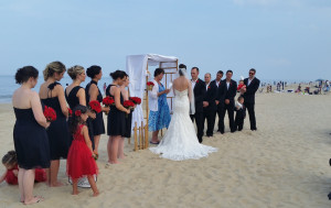Janelle and Robert Wedding on Rehoboth Beach