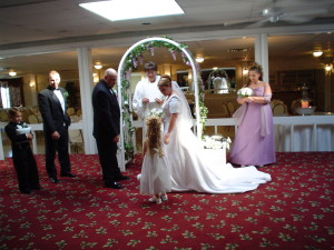 Indoor Wedding in Ballroom