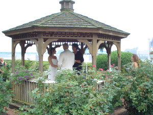 Wedding in a Gazebo